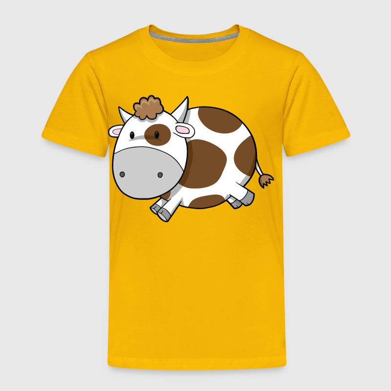 cute cow - Toddler Premium T-Shirt
