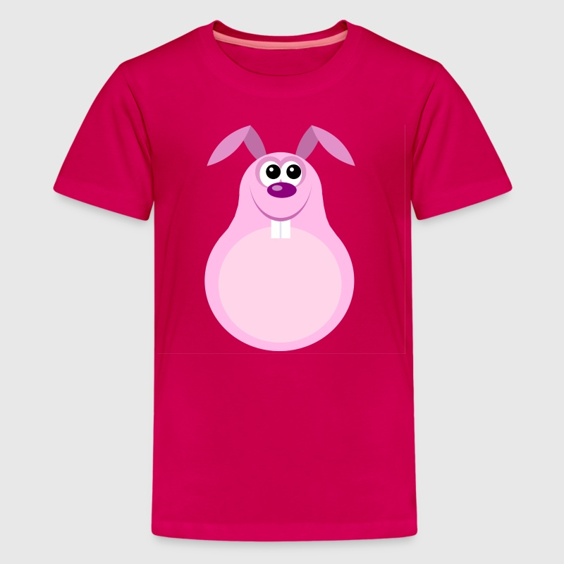 Funny Easter Bunny Cartoon Kids T-shirt - Kids' Premium T-Shirt