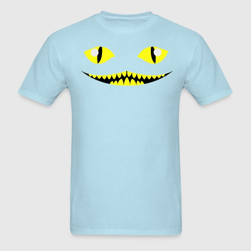 Sky blue cheshire cat from alice in wonderland T-Shirts - Men's T-Shirt