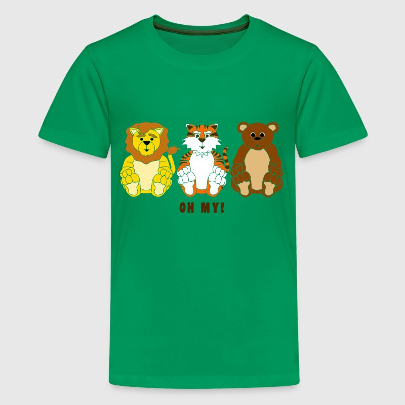 Lions and Tigers and Bears... Kid's Tee - Kids' Premium T-Shirt