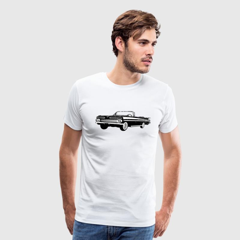 1959 Chevrolet Impala Convertible - Men's Premium T-Shirt