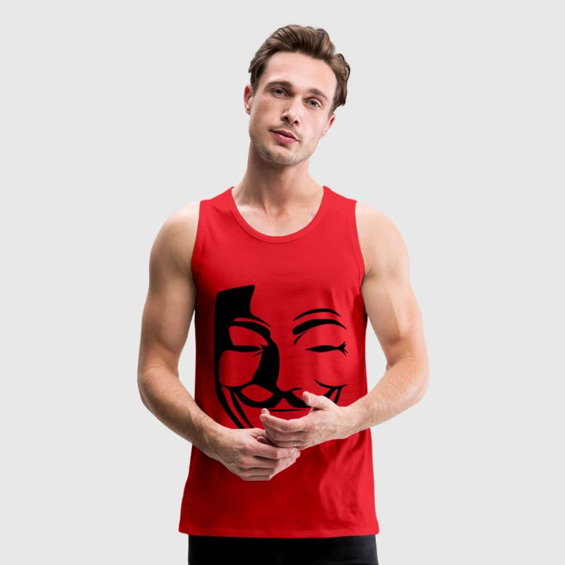 anonymous T-Shirts - Men's Premium Tank