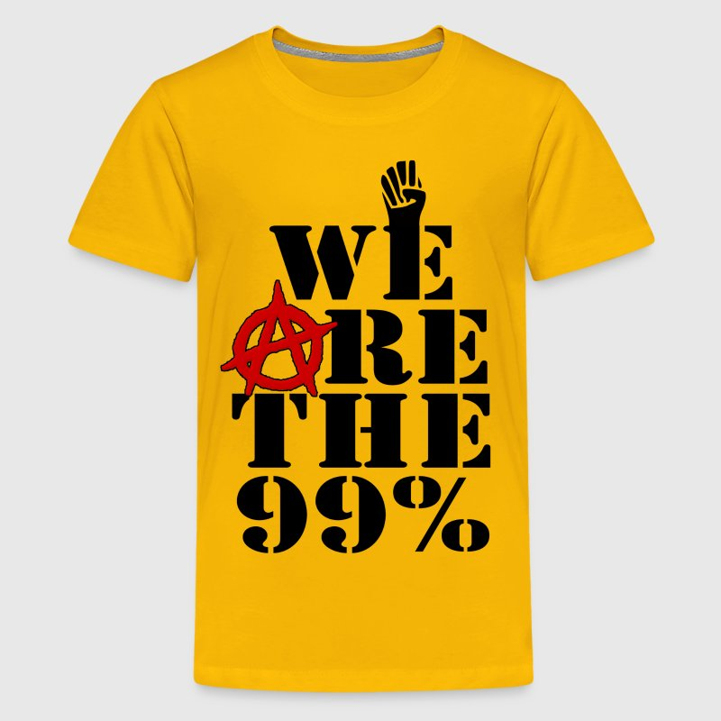 We Are The 99% Occupy Wall Street Kids' Shirts - Kids' Premium T-Shirt