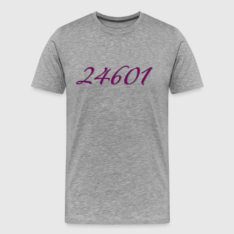 Les Miserables 24601 Prisoner Number T-Shirts - Men's Premium T-Shirt
