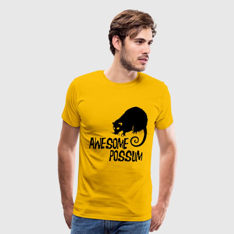 Awesome Possum T-Shirts - Men's Premium T-Shirt