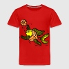 Basketball Fish, Fish Playing Basketball - Toddler Premium T-Shirt