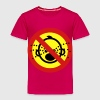 Funny NO Cry Babies Sign - Toddler Premium T-Shirt