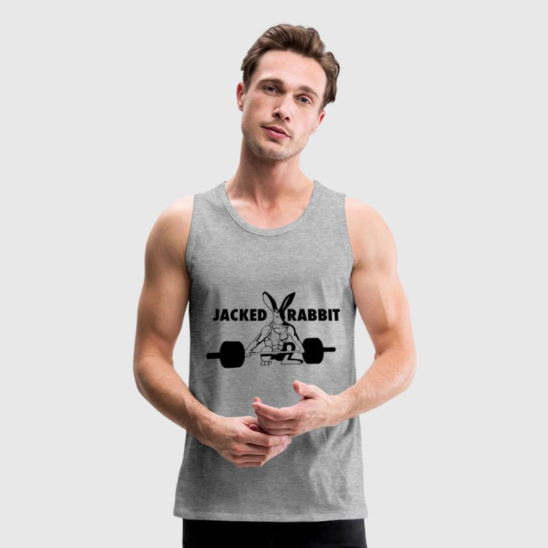 Jacked Rabbit T-Shirts - Men's Premium Tank