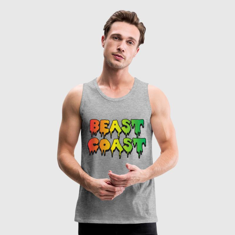 Beast Coast Tank Tops - Men's Premium Tank