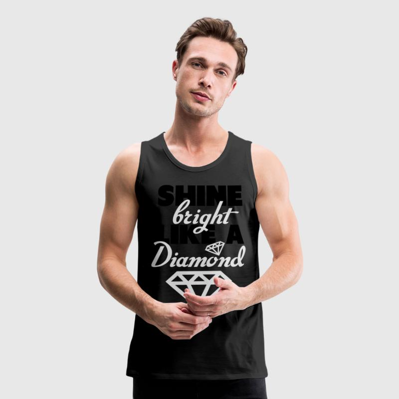 Tiffany Dunks Shine Bright Like A Diamond Shirt Tank Tops - Men's Premium Tank