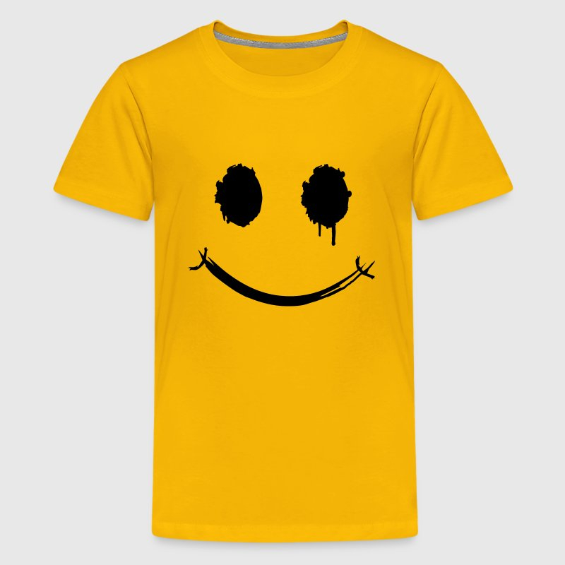 A smiley face graffiti Kids' Shirts - Kids' Premium T-Shirt