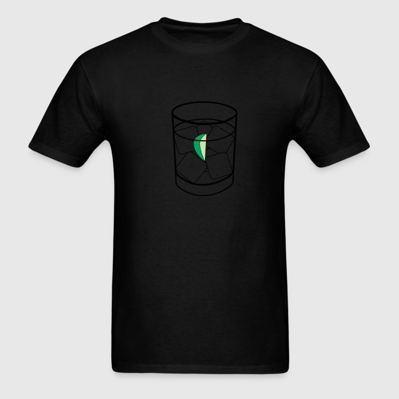 Black vodka tonic Men - Men's T-Shirt