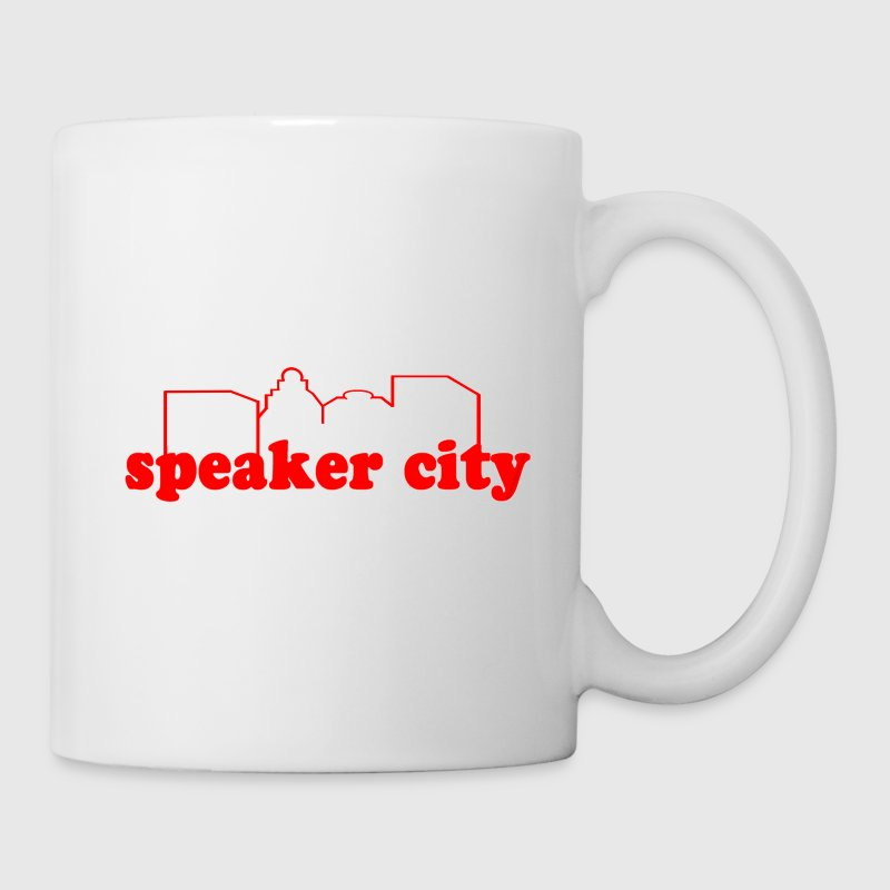 White speaker city Gift - Coffee/Tea Mug