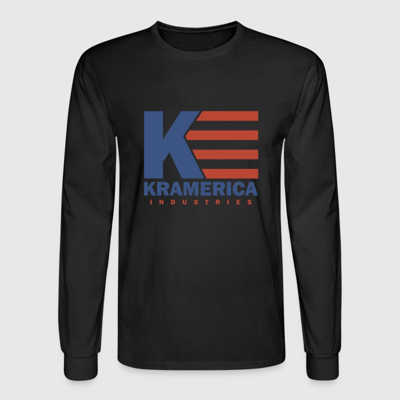 Black Kramerica Industries Men - Men's Long Sleeve T-Shirt