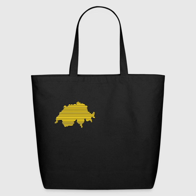 Black Switzerland Bags  - Eco-Friendly Cotton Tote