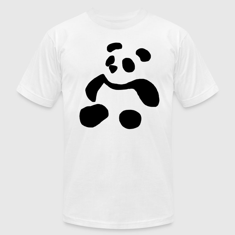 Shadow Panda - Men's T-Shirt by American Apparel