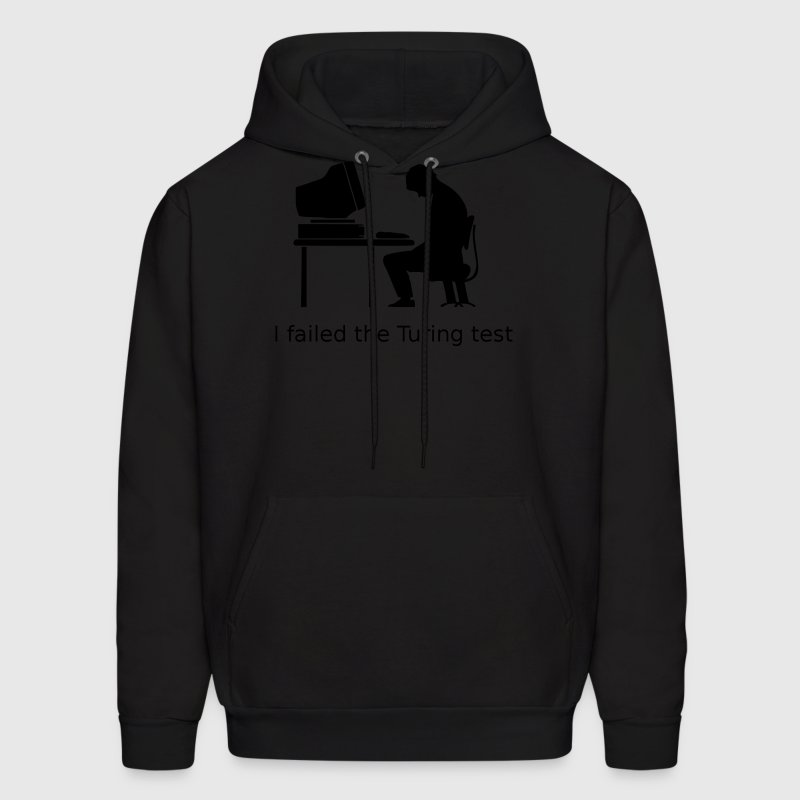 Black Turing test Hoodies - Men's Hoodie
