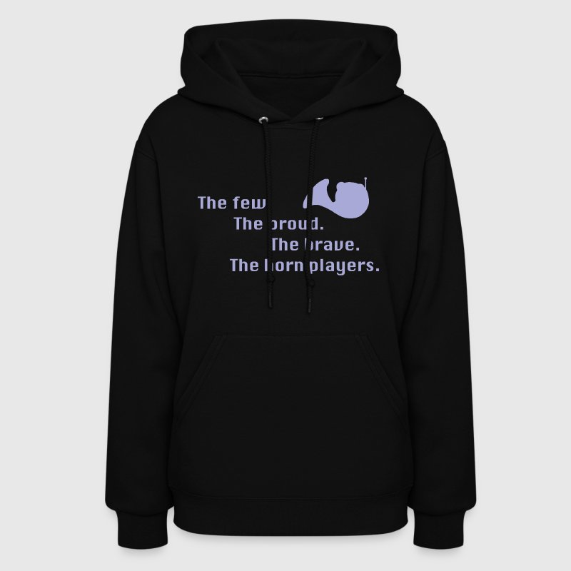 The French Horn Players Hoodie - Women's Hoodie