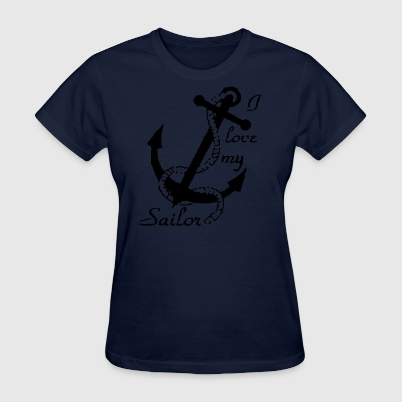 I love my sailor - Women's T-Shirt