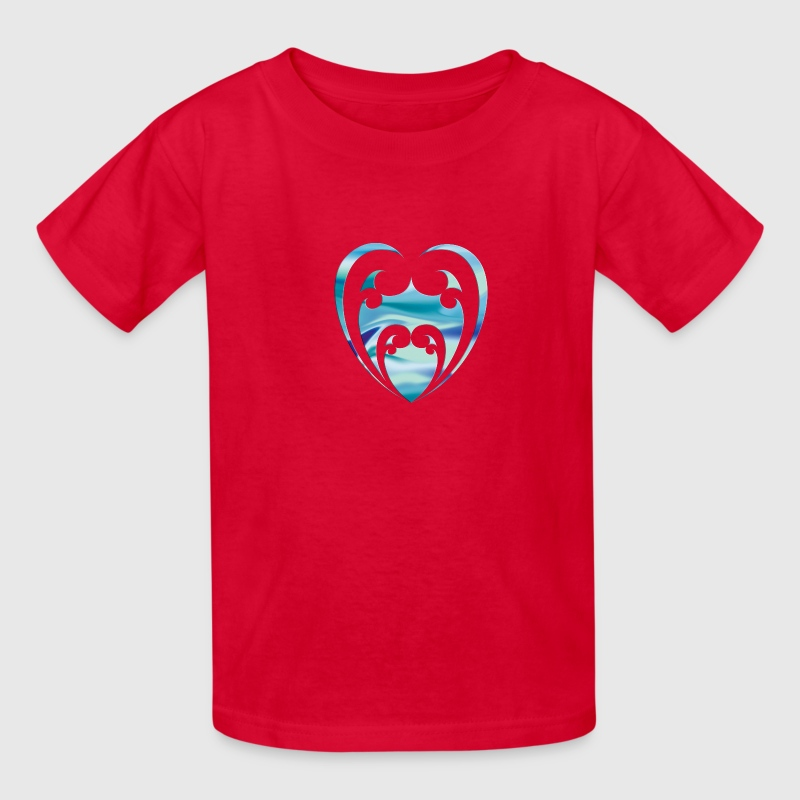 Red Aroha Kids' Shirts - Kids' T-Shirt