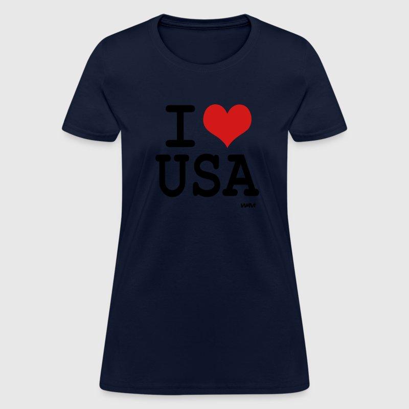 I love usa by wam t shirt spreadshirt for T shirt design usa