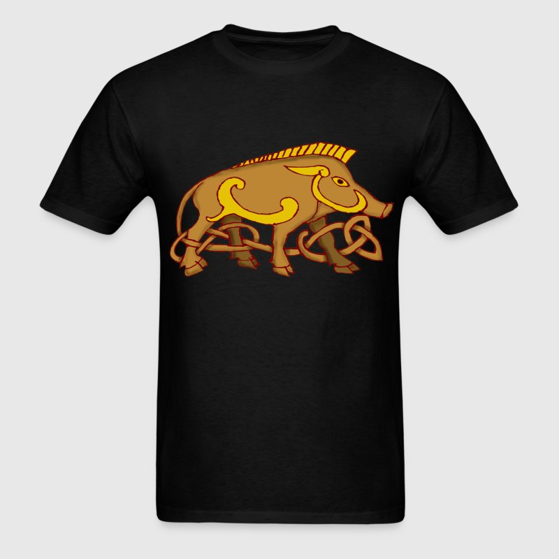 Viking Boar T Shirt - Men's T-Shirt