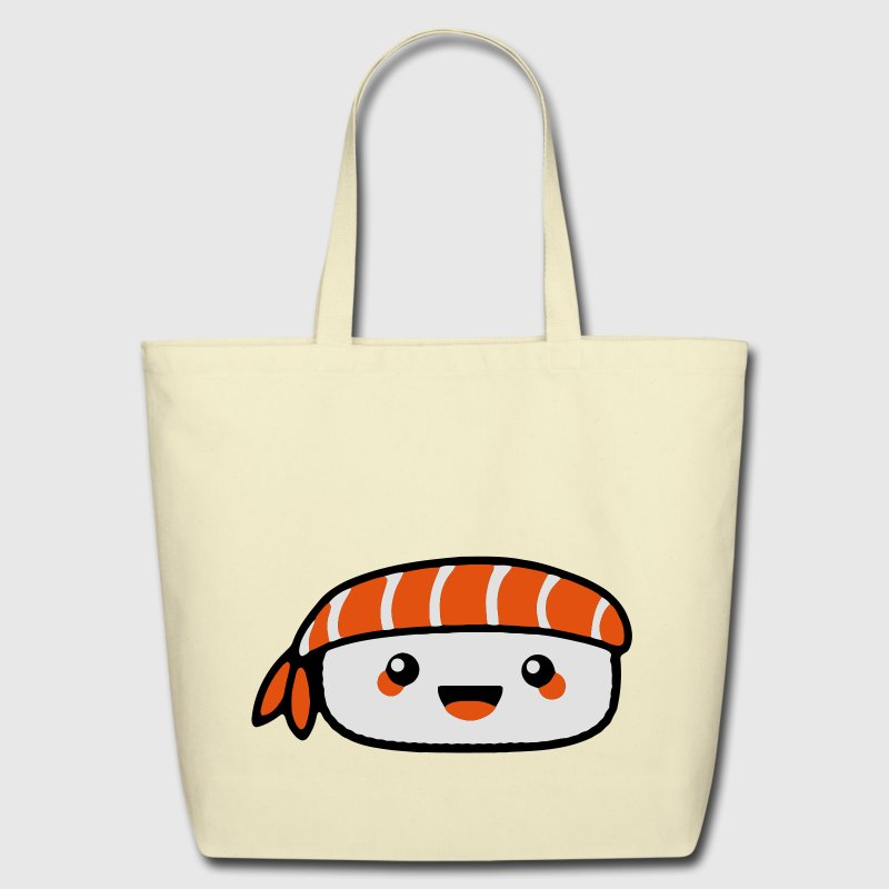 Creme sushi Bags  - Eco-Friendly Cotton Tote