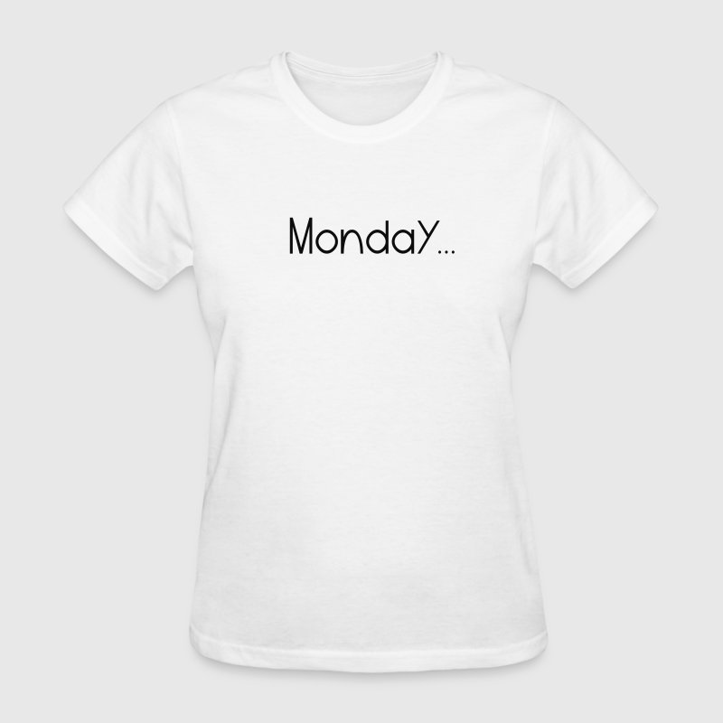 Deep heather Favorite Day Monday Women's T-Shirts - Women's T-Shirt