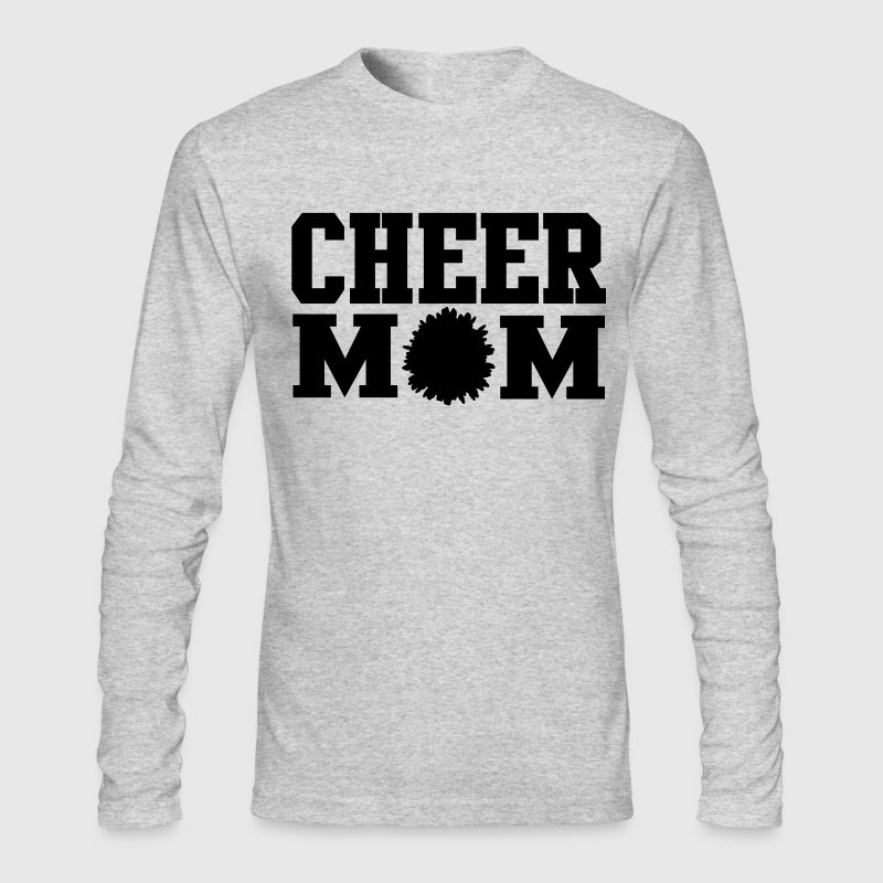 Cheer Mom Long Sleeve T-Shirt - Men's Long Sleeve T-Shirt by Next Level