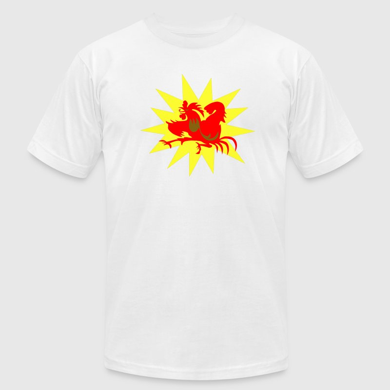 White The Cockpuncher T-Shirts - Men's Fine Jersey T-Shirt