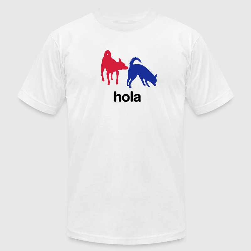 Hola - Men's T-Shirt by American Apparel