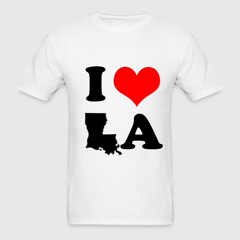 I Love Louisiana T-Shirts - Men's T-Shirt