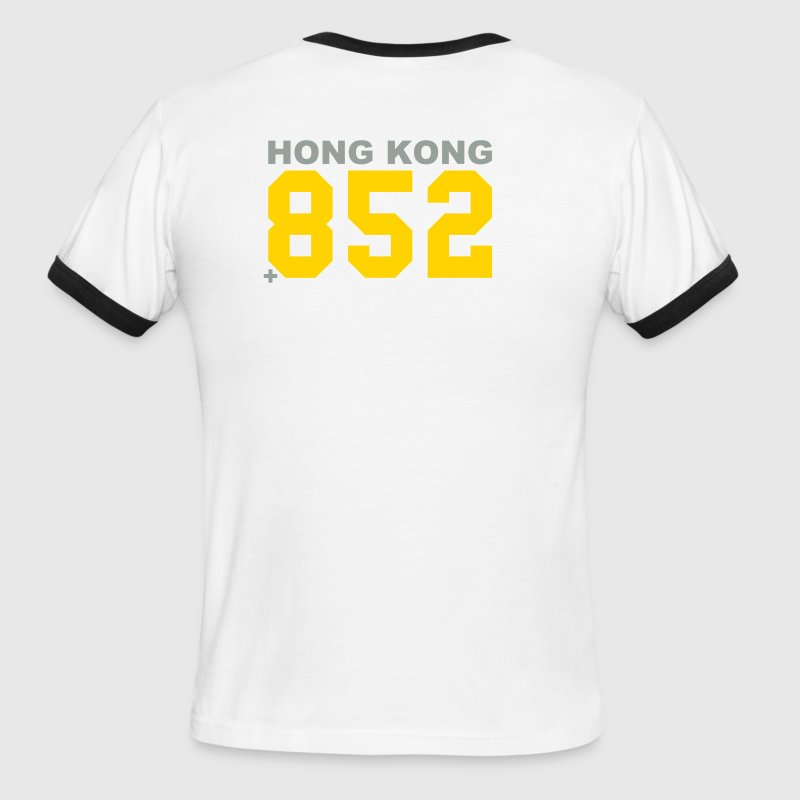 Hong Kong calling - Men's Ringer T-Shirt