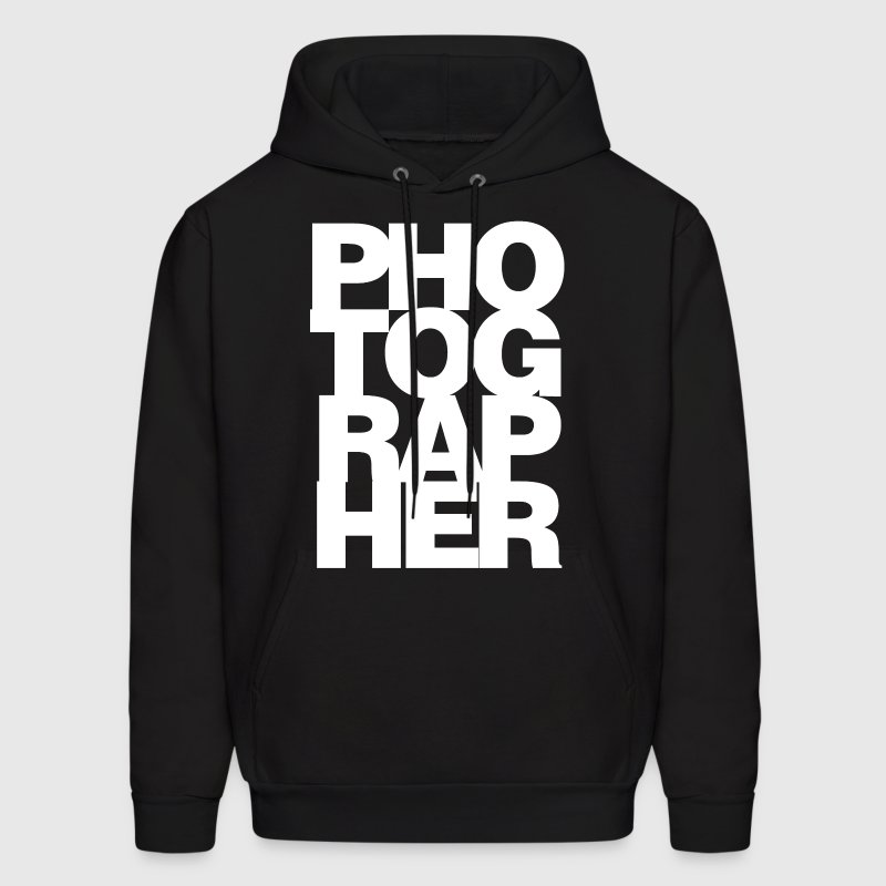 Black Photographer Hoodies - Men's Hoodie