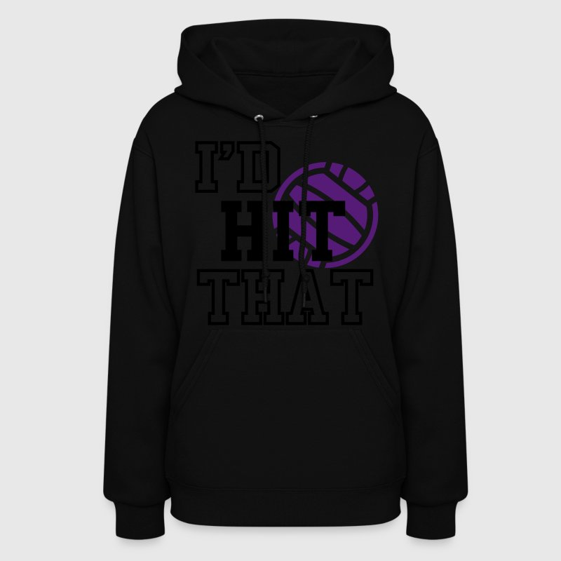 Volleyball I'd Hit That Women's Hoodie - Women's Hoodie