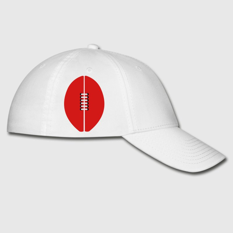 White aussie rules afl football ball Caps - Baseball Cap