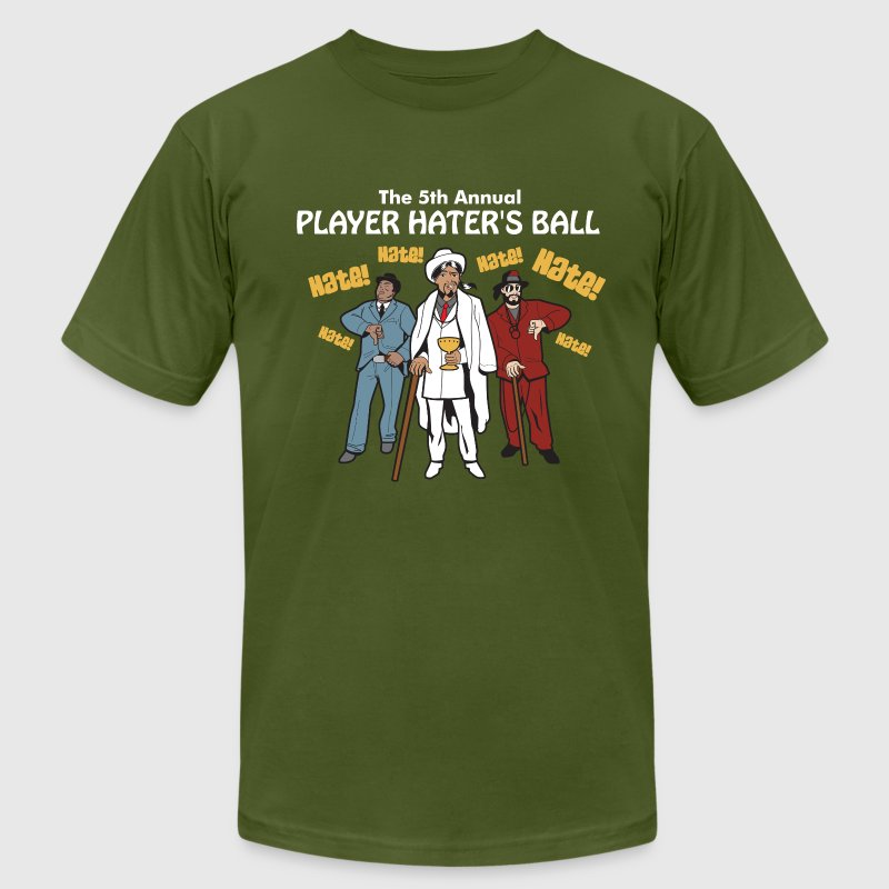 Player Haters Ball T-Shirts - Men's T-Shirt by American Apparel