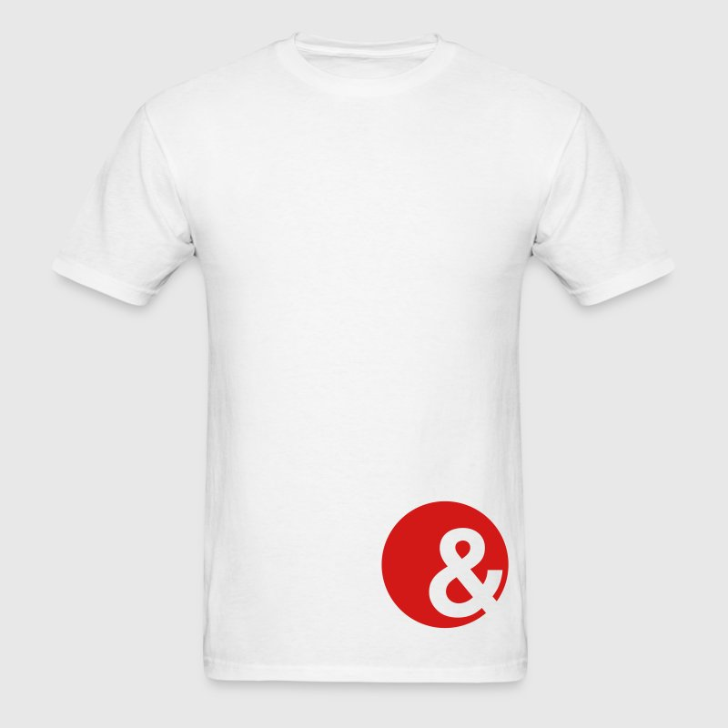 ampersand T-Shirts - Men's T-Shirt