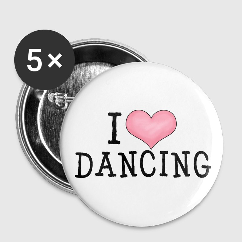 I Love Dancing - Small Buttons