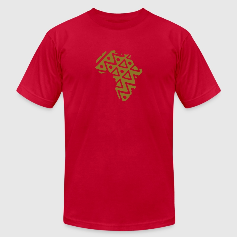 Brown African design 12 T-Shirts - Men's T-Shirt by American Apparel