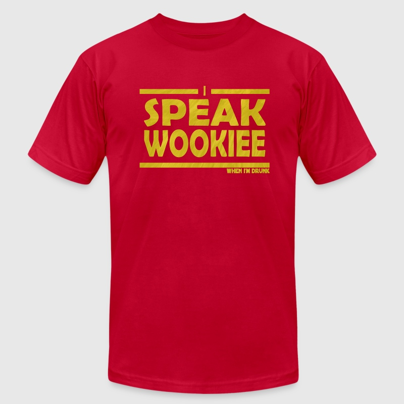 Brown wookie T-Shirts - Men's Fine Jersey T-Shirt