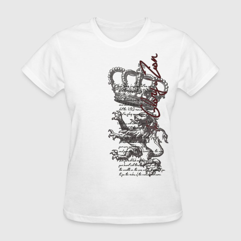 Deep heather Glory Of Zion Women's T-Shirts - Women's T-Shirt