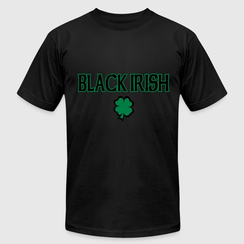 Black Irish T-Shirt - Men's Fine Jersey T-Shirt