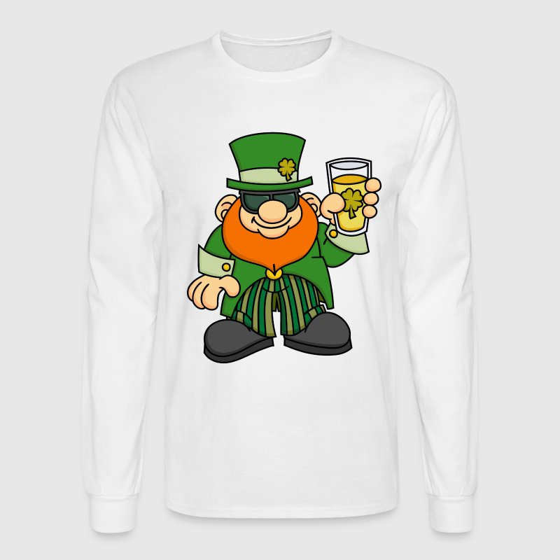 Cool Leprechaun - Men's Long Sleeve T-Shirt