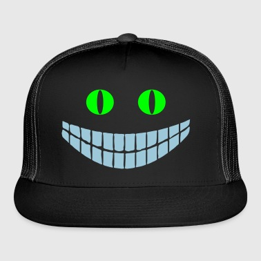 Black Cheshire cat (2c) Bags  - Trucker Cap