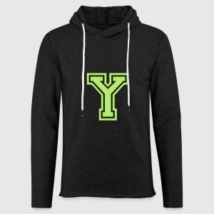 Letter y t shirt spreadshirt unisex lightweight terry hoodie sciox Image collections
