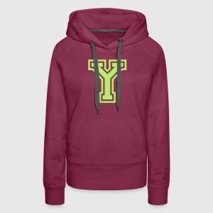 Letter y t shirt spreadshirt womens premium hoodie sciox Images