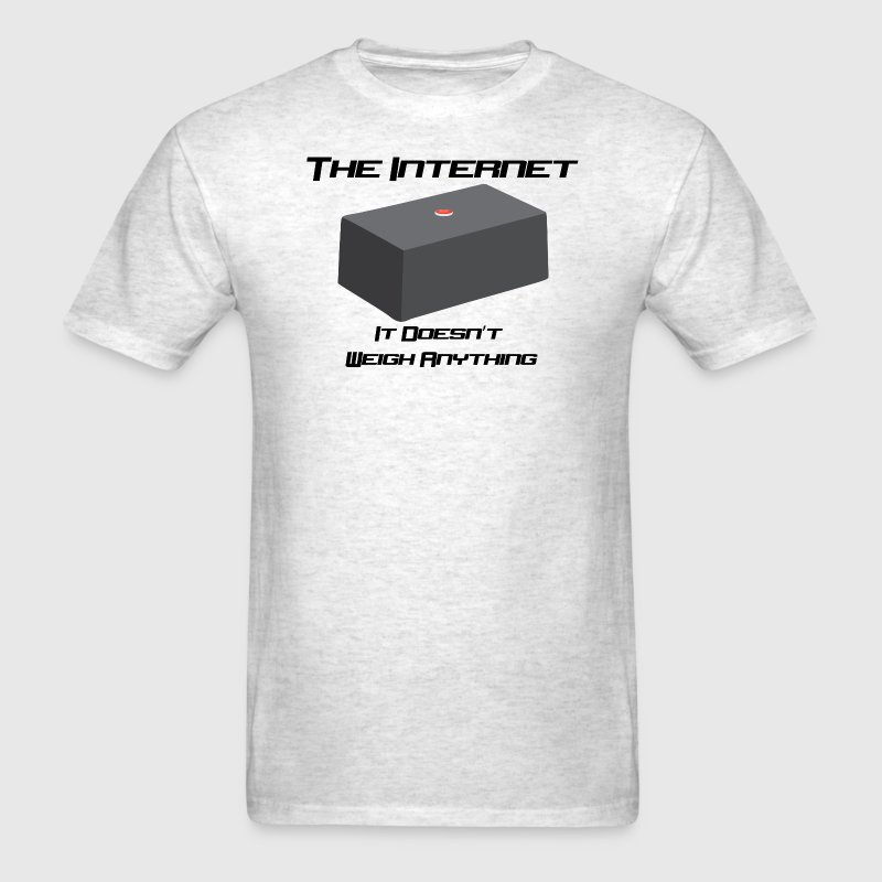 The Internet is Weightless - Mens - Men's T-Shirt