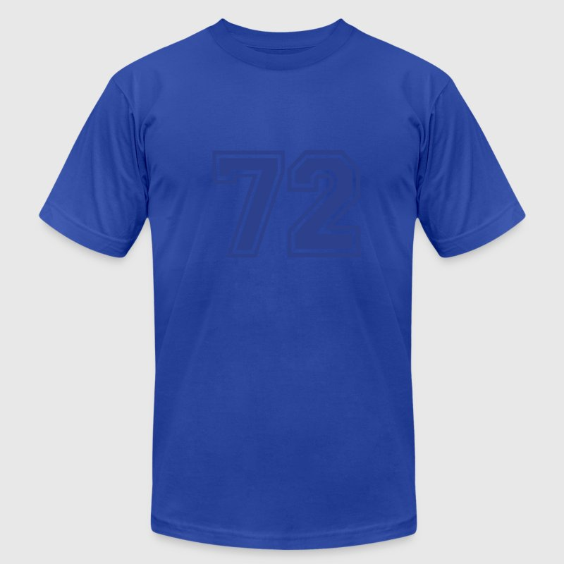Royal blue 72 T-Shirts - Men's T-Shirt by American Apparel