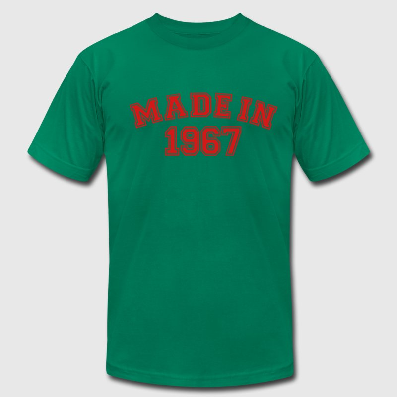 Kelly green Made in 1967 T-Shirts - Men's Fine Jersey T-Shirt